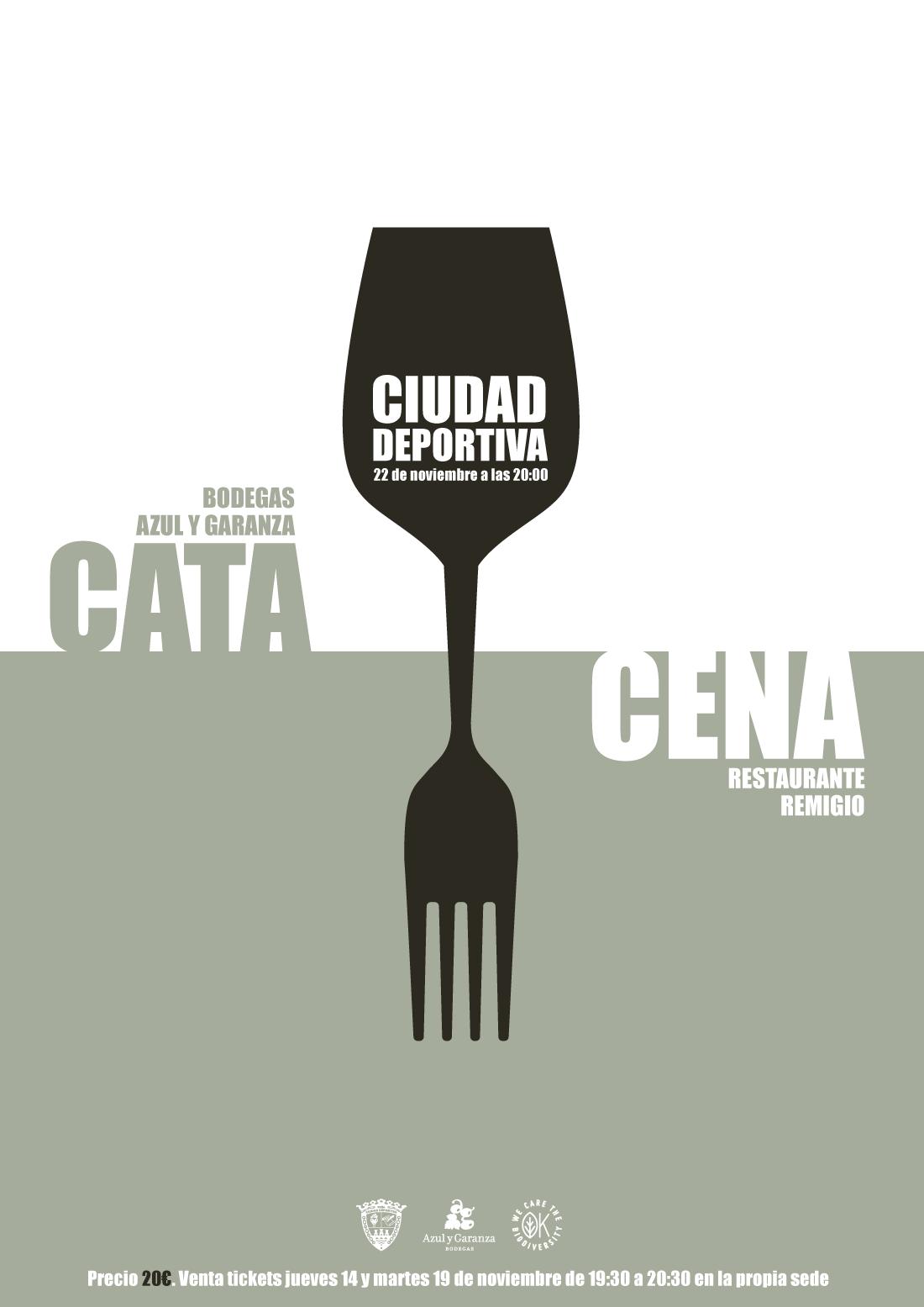 Cata y Cena - Ciudad Deportiva