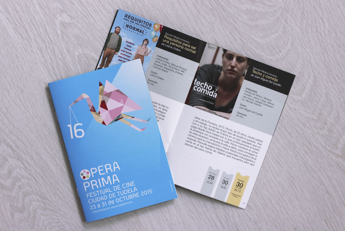 Ópera Prima programa
